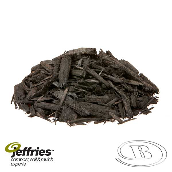 Forever Black Mulch at Budget Landscape & Building Supplies