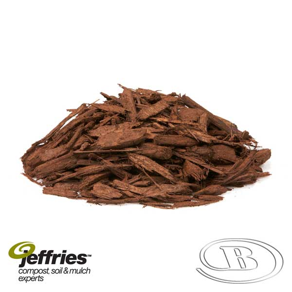 Forever Brown Mulch at Budget Landscape & Building Supplies
