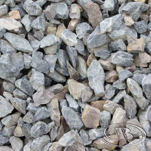 50mm-65mm Blue Stone Gravel at Budget Landscape & Building Supplies