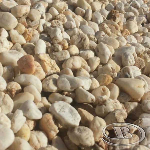 40mm Cream Pebble at Budget Landscape & Building Supplies