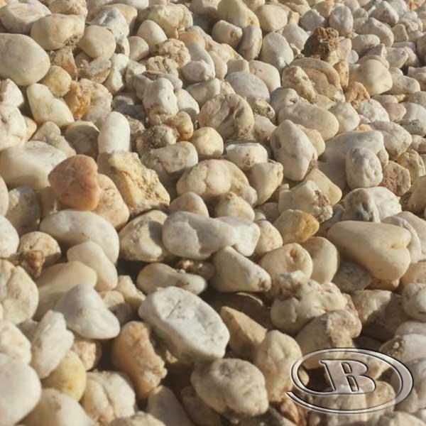 40mm Cream Pebble at Budget Landscape & Building Supplies