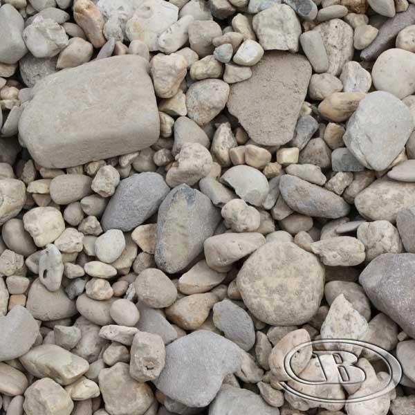 Beach Pebble at Budget Landscape & Building Supplies