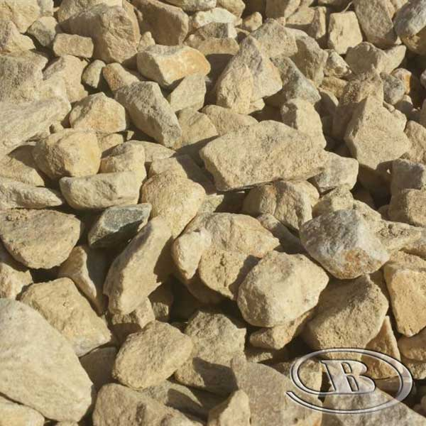 Sandstone Gabion Rocks at Budget Landscape & Building Supplies
