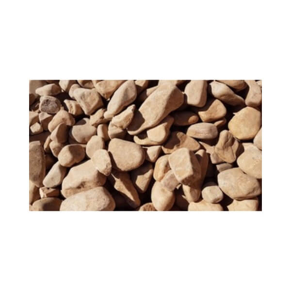 50mm River Pebble at Budget Landscape & Building Supplies