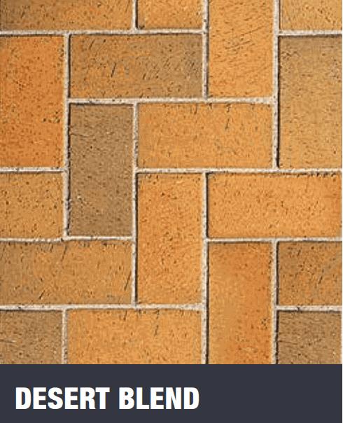 Desert Blend Clay Pavers at Budget Landscape & Building Supplies