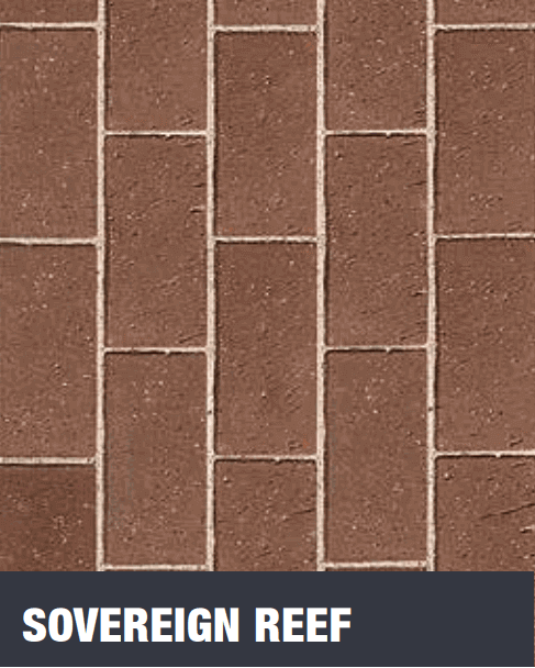 Sovereign Reef Clay Pavers at Budget Landscape & Building Supplies
