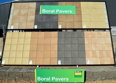 Boral Pavers on sale in July at both Hackham & Sheidow PArk stores