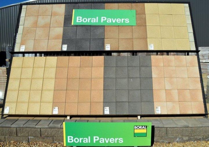 Boral Pavers