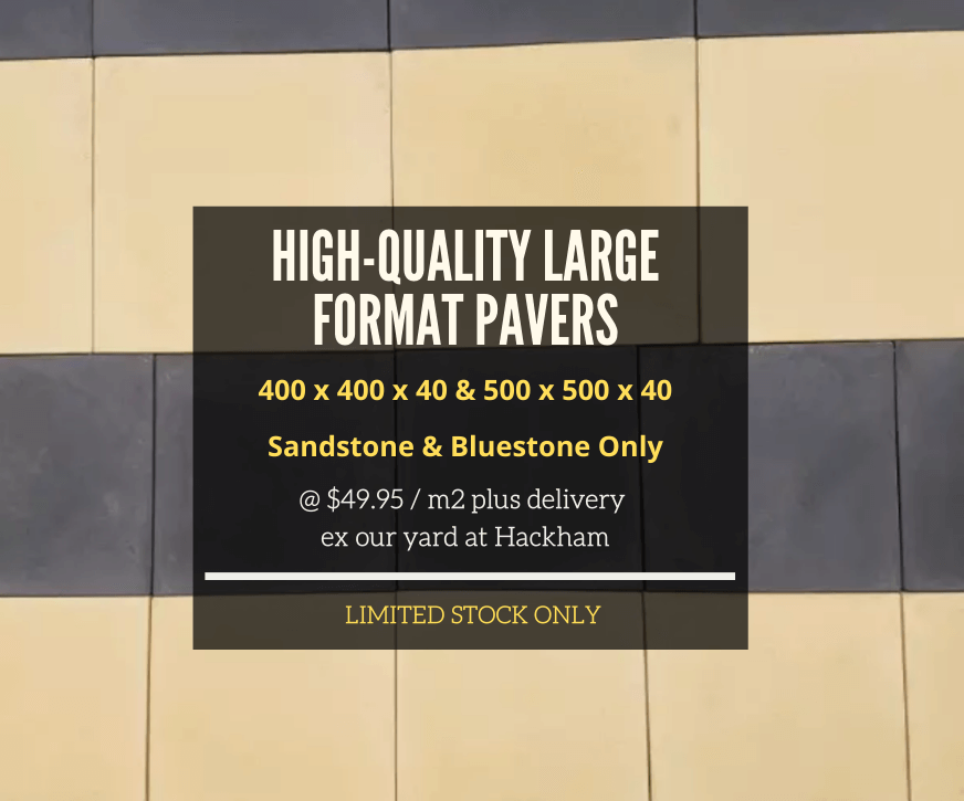 High Quality Large Format Pavers