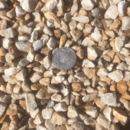 14mm Quartzite Gravel at Budget Landscape & Building Supplies