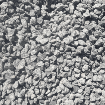 20mm Crushed Granite Gravel at Budget Landscape & Building Supplies