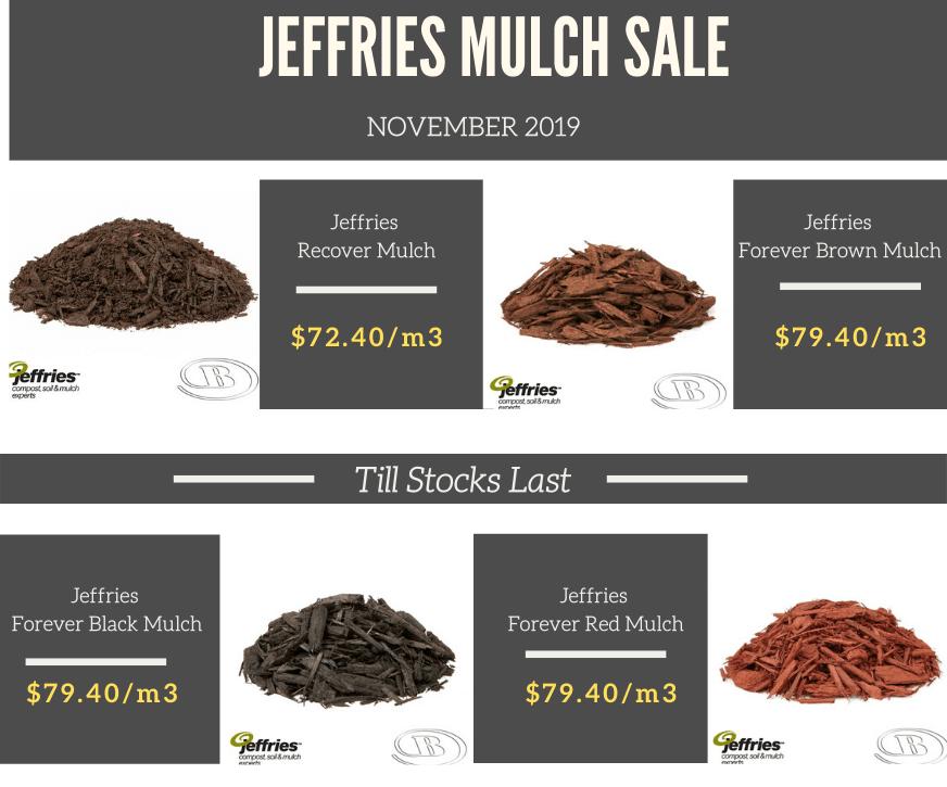 jeffries mulch sale