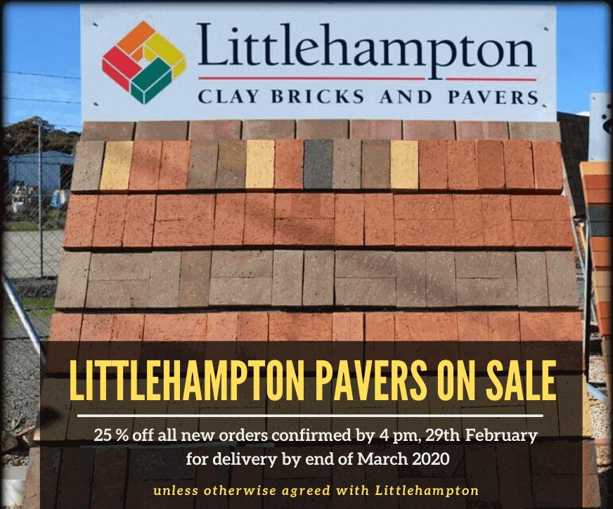 Littlehampton Pavers On Sale