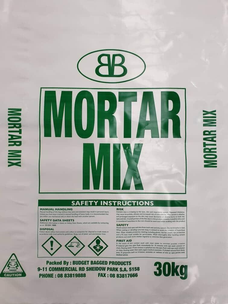 Mortar Mix (Budget Bagged)