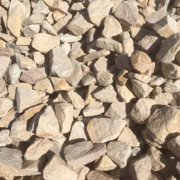 65mm White Rock Gravel at Budget Landscape & Building Supplies
