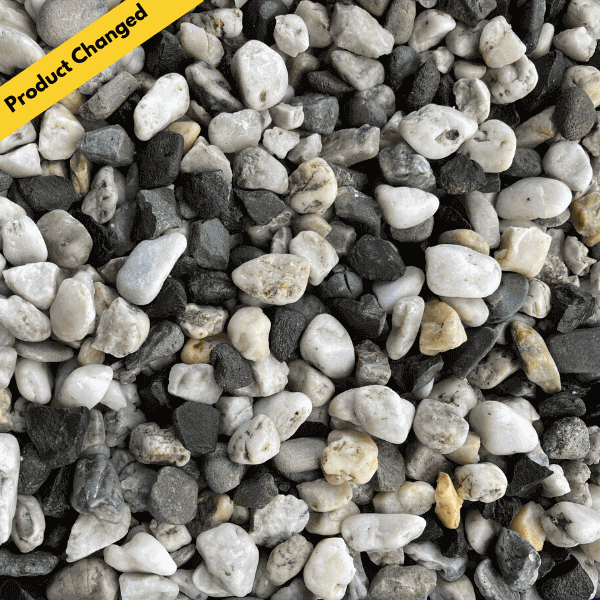 20mm Grey Pebbles