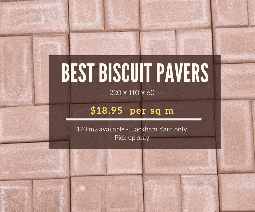60mm Biscuit Pavers - Sean's Hot Spot Special