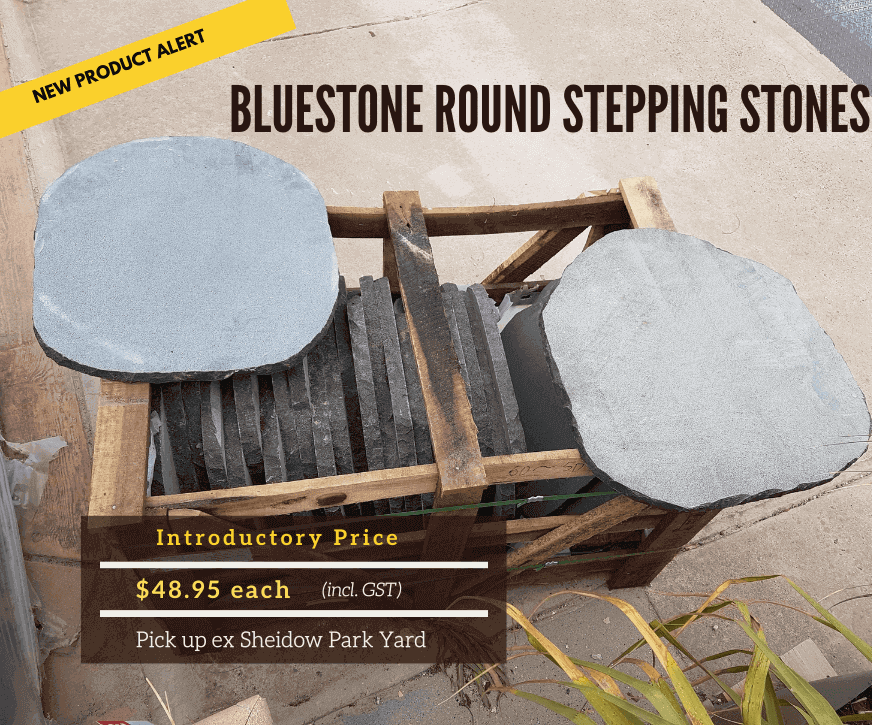 Bluestone Round Stepping Stones