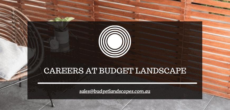 Careers At Budget Landscape