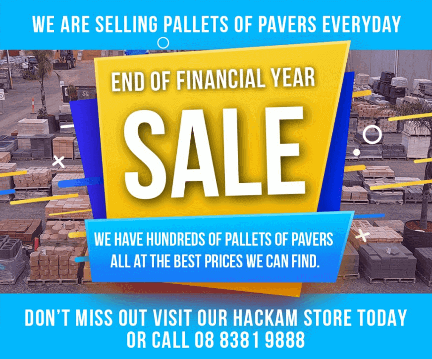 End Of Financial Year Paver Sale - Website