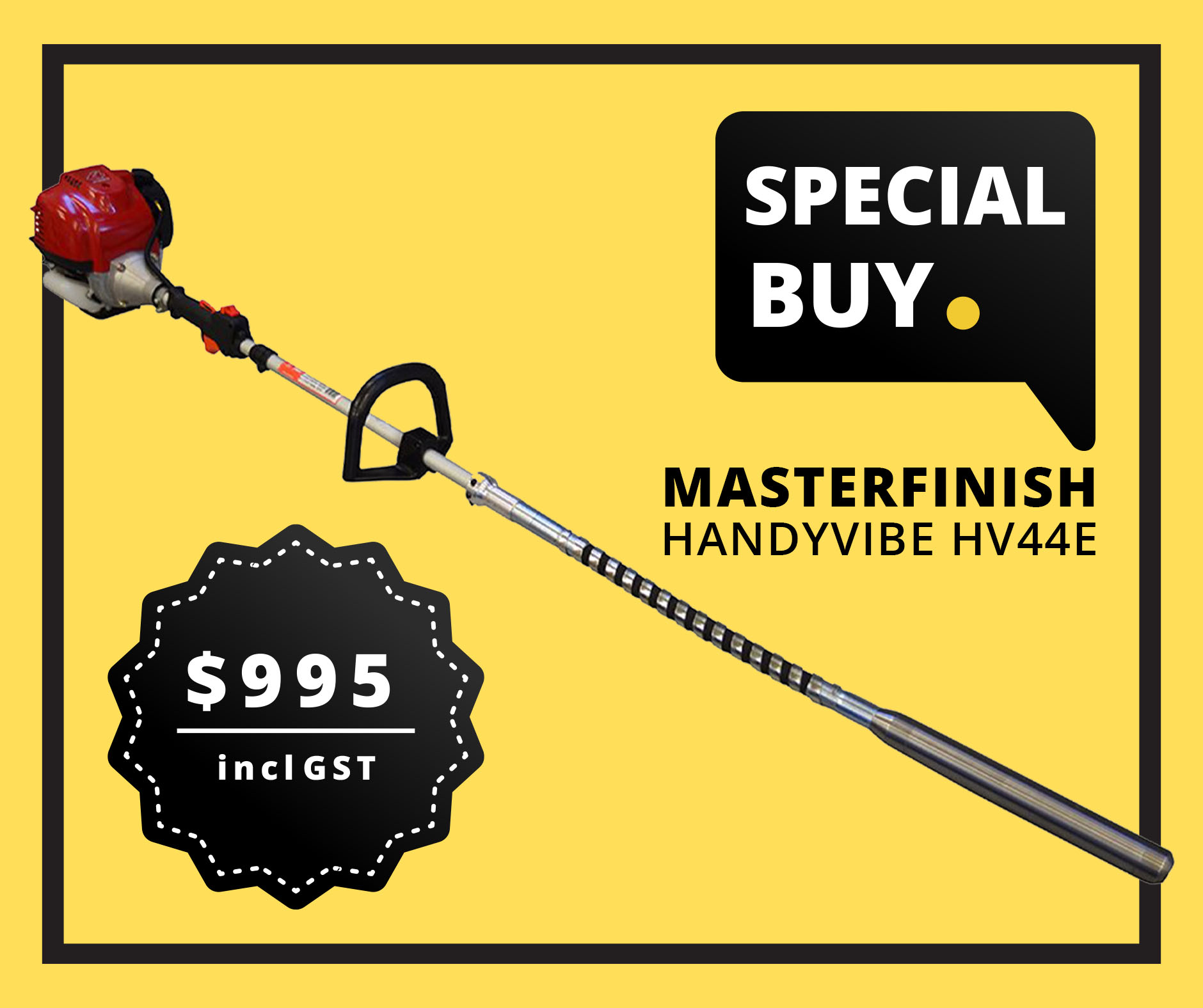 Special Buy Master Finish Handy Vibe HV44E