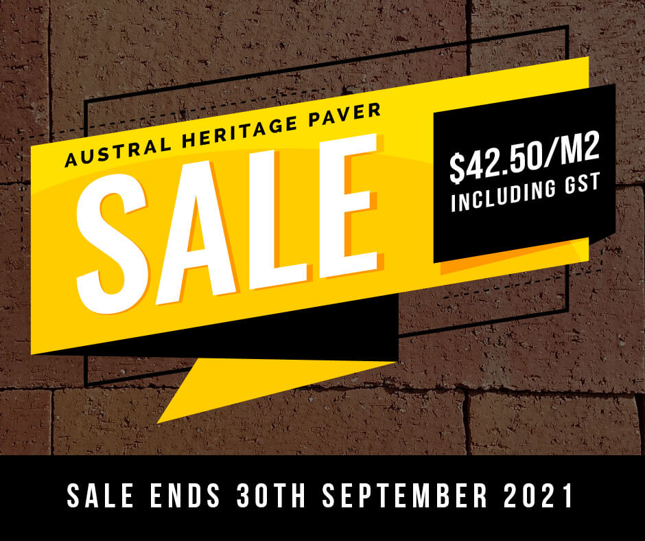 Austral Heritage Paver Sale