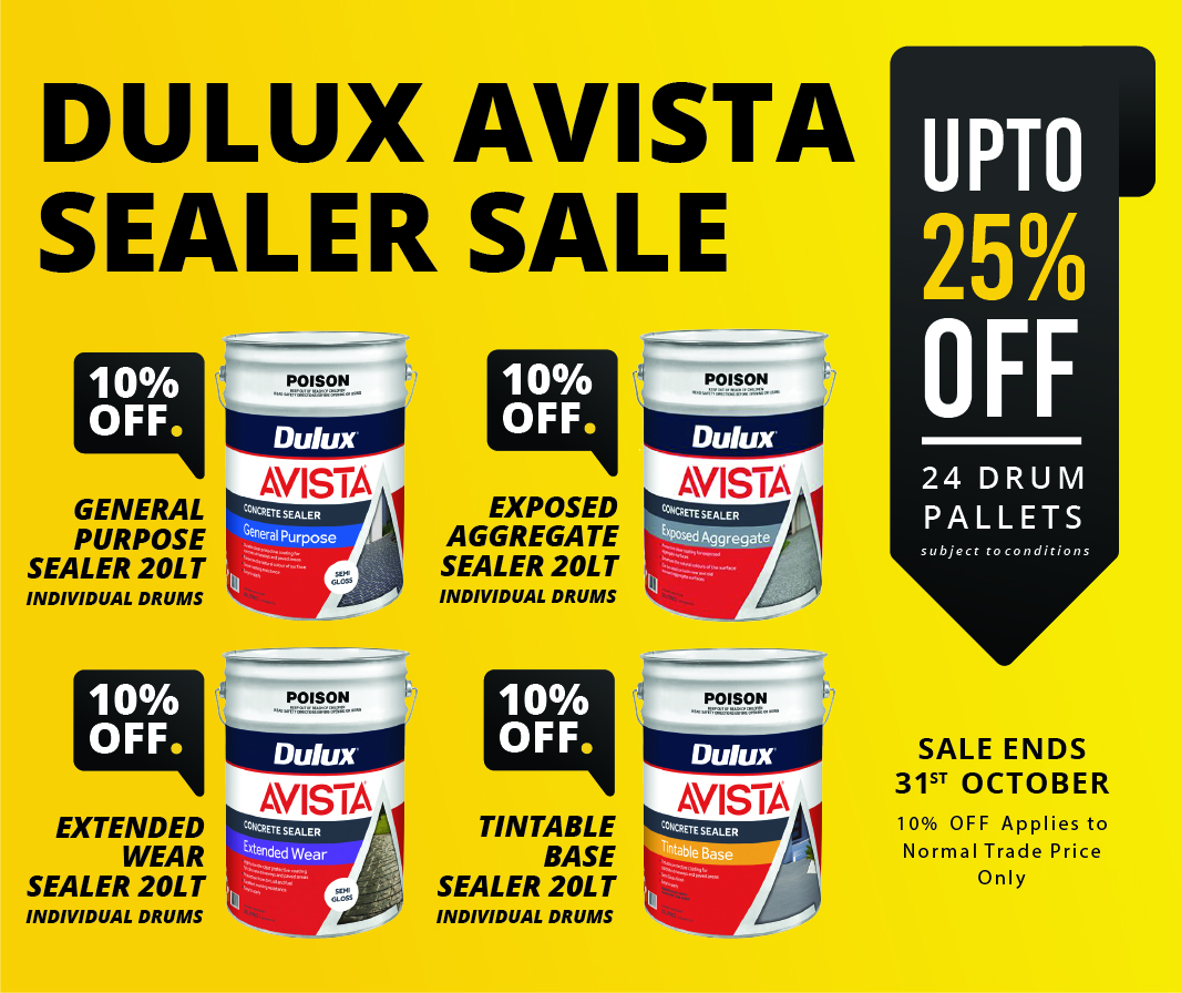 Dulux Avista Sealer